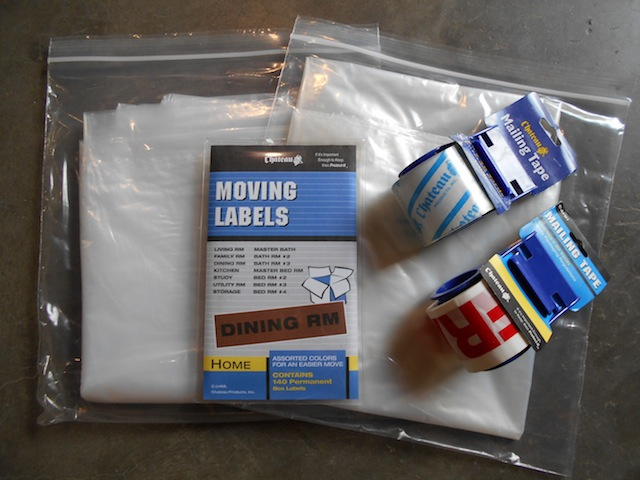 FREE Moving Supplies to NEW GO BOX Storage Customers,