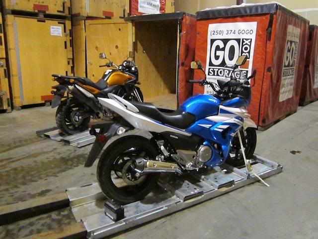 Innovative Solution to BIG Bike Storage,