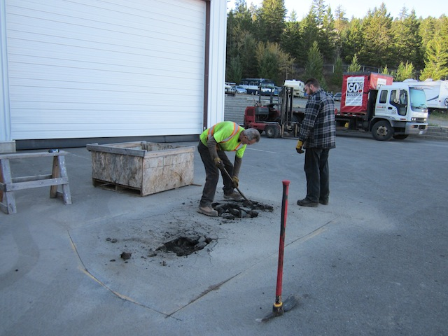 MR PATCH: Sinkholes and Repairs,