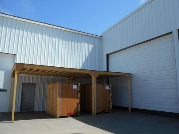This is the public access area. If you visit your GOBOX while in warehouse storage, it will be placed here.