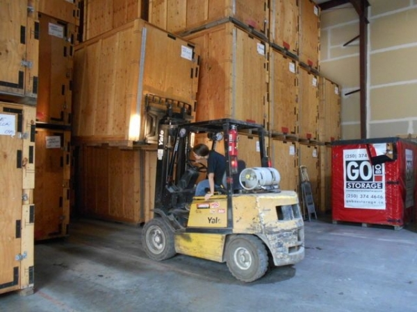 This is the GO BOX Storage heated warehouse which is our best quality storage option.