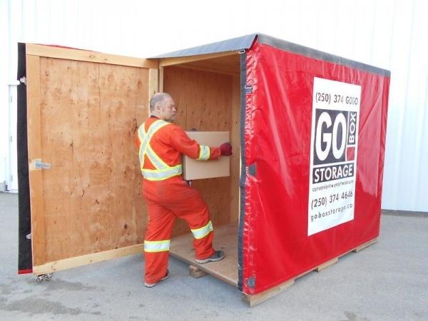 Loading a GO BOX