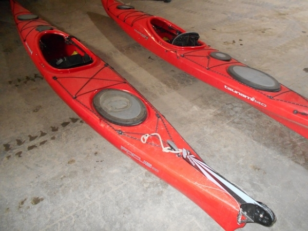 Two Focus Wilderness Kayaks For Sale
