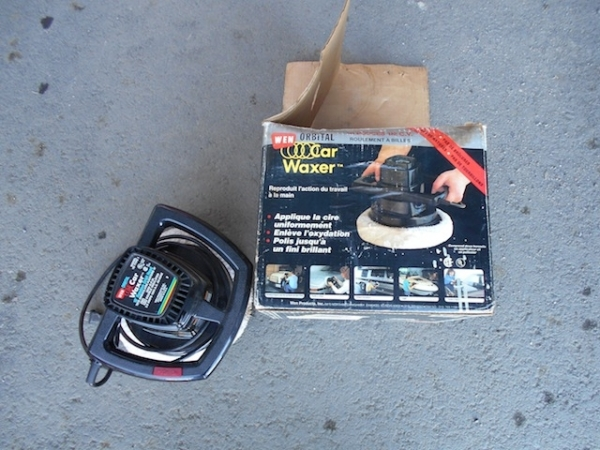 Car Polisher and Waxer